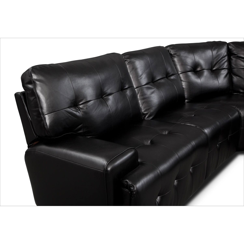 leather possibilities track arm sofa sparta prague u21 jablonec sofascore magellan 5 pc power reclining sectional value