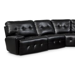 Leather Possibilities Track Arm Sofa How To Clean At Home In Hindi Magellan 5 Pc Power Reclining Sectional Value