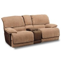 Putnam Camel Gliding Reclining Loveseat   Furniture.com