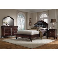 Manhattan 6-Piece Queen Bedroom Set - Cherry | American ...