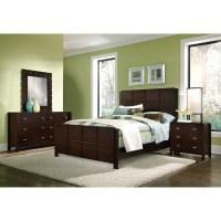 Mosaic 6-Piece Queen Bedroom Set - Dark Brown | American ...
