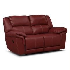 Dual Reclining Sofa And Loveseat Bristol Corner Bed Jaguar Ii Leather Value City