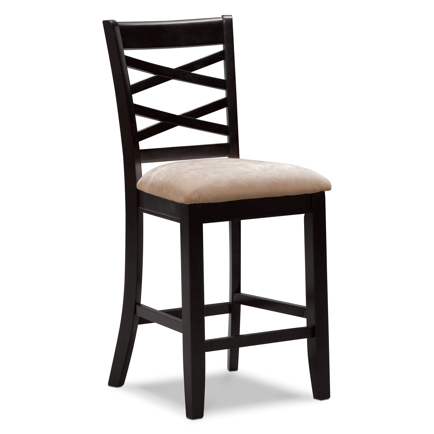 Counter Height Chair Americana Espresso Counter Height Stool Value City Furniture