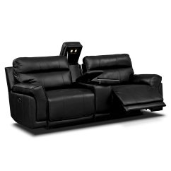 3 Pc Sectional Sofa With Recliners Ottoman Bed Double Value City Furniture