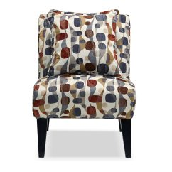 Geometric Accent Chair Swivel Explode Adrian Value City Furniture