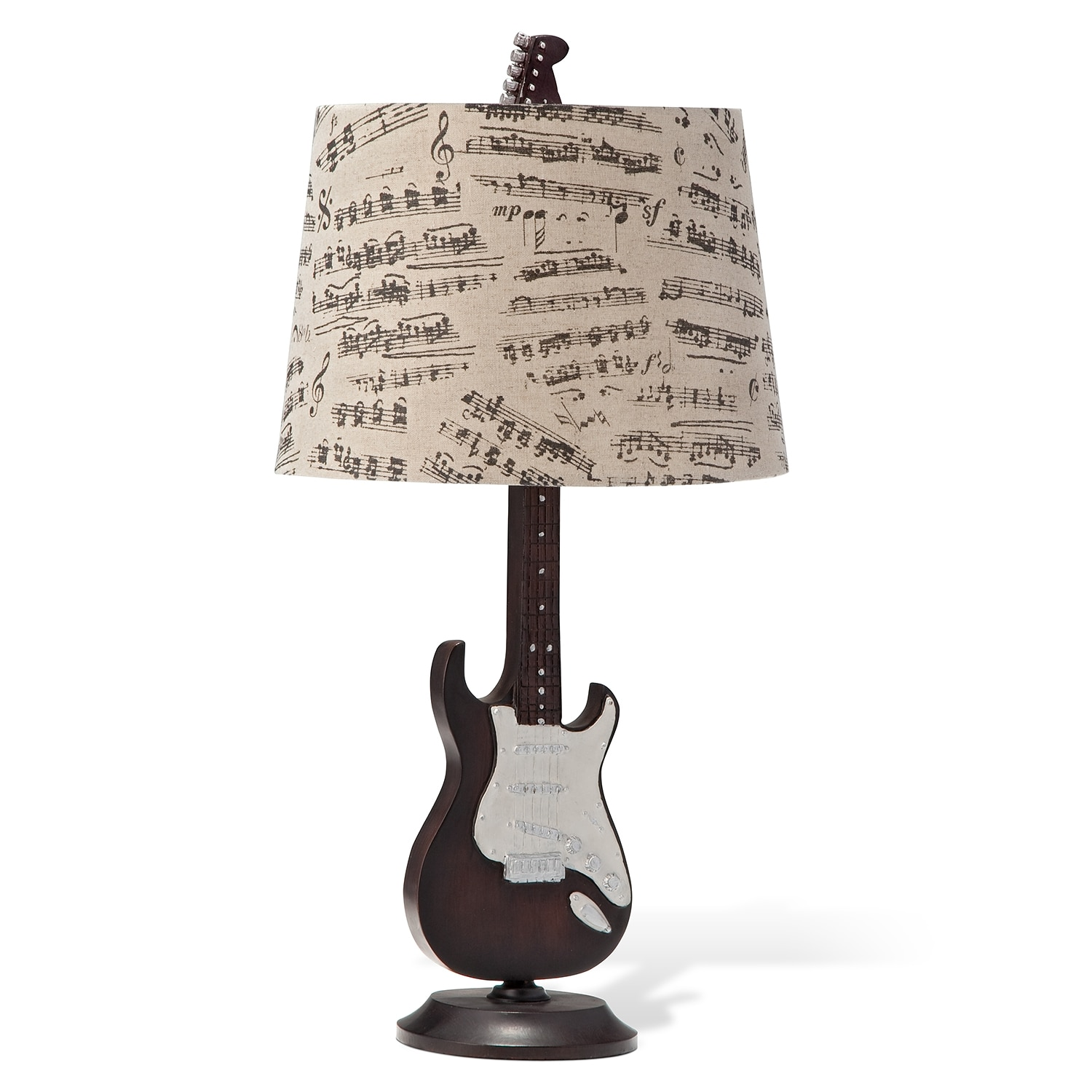 guitar shaped chair bedroom bed value city furniture