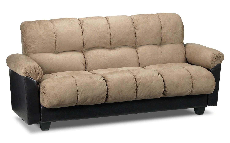 leon s sofas italian recliner sofa leons beds athina 2 piece left facing queen bed