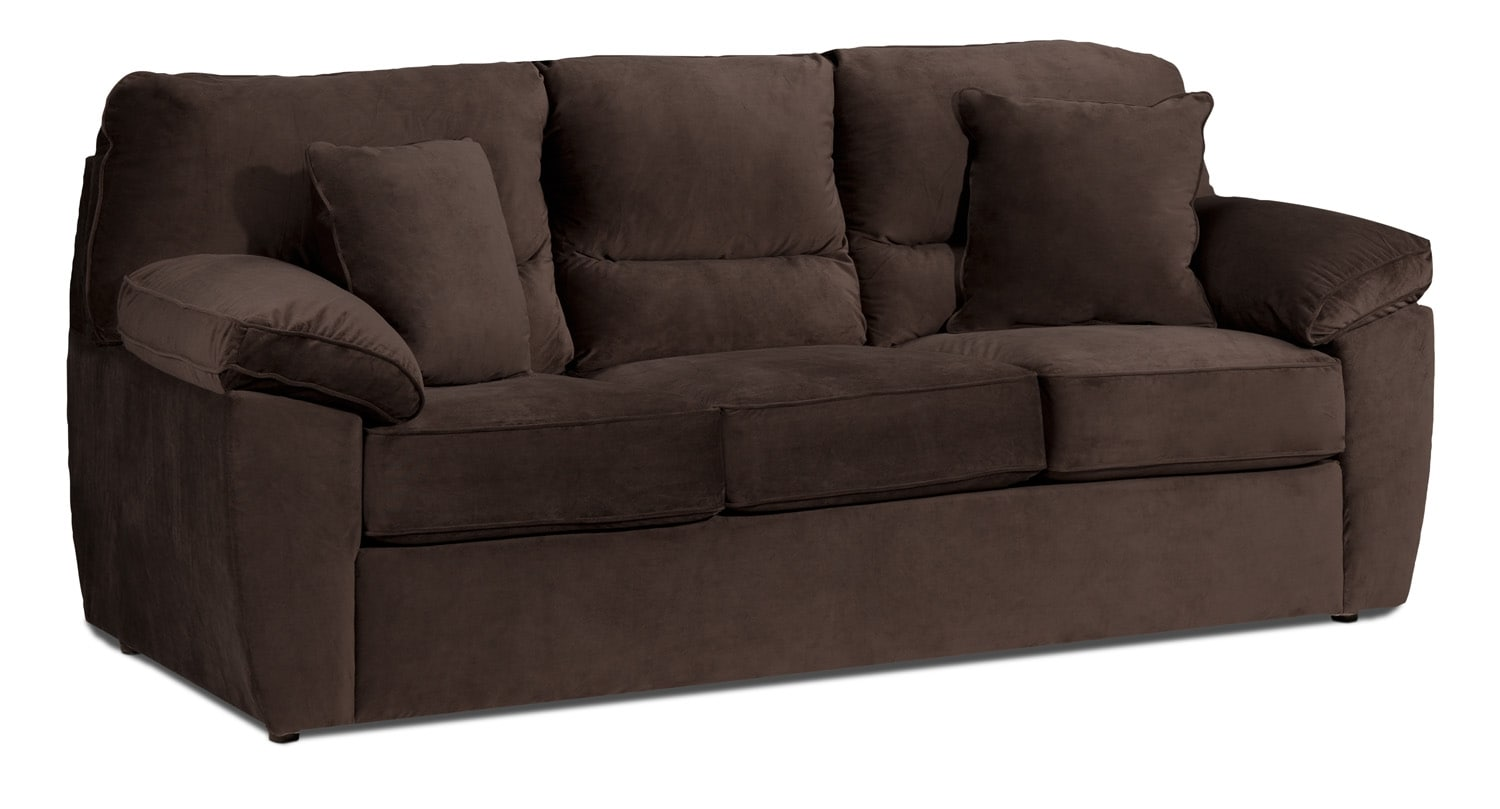 leon s sofas cat urine on sofa clean leons beds athina 2 piece left facing queen bed