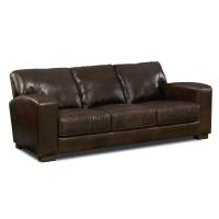 Grayson Leather Sofa - Value City Furniture