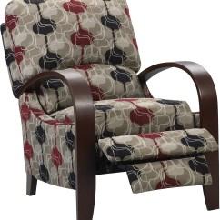 Recliner Accent Chairs Wheelchair Van Ramp Aaron Reclining Fabric Chair  Lava The Brick