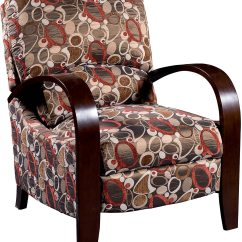 Recliner Accent Chairs Outdoor Table And Chair Set Aaron Reclining Fabric Copper The Brick