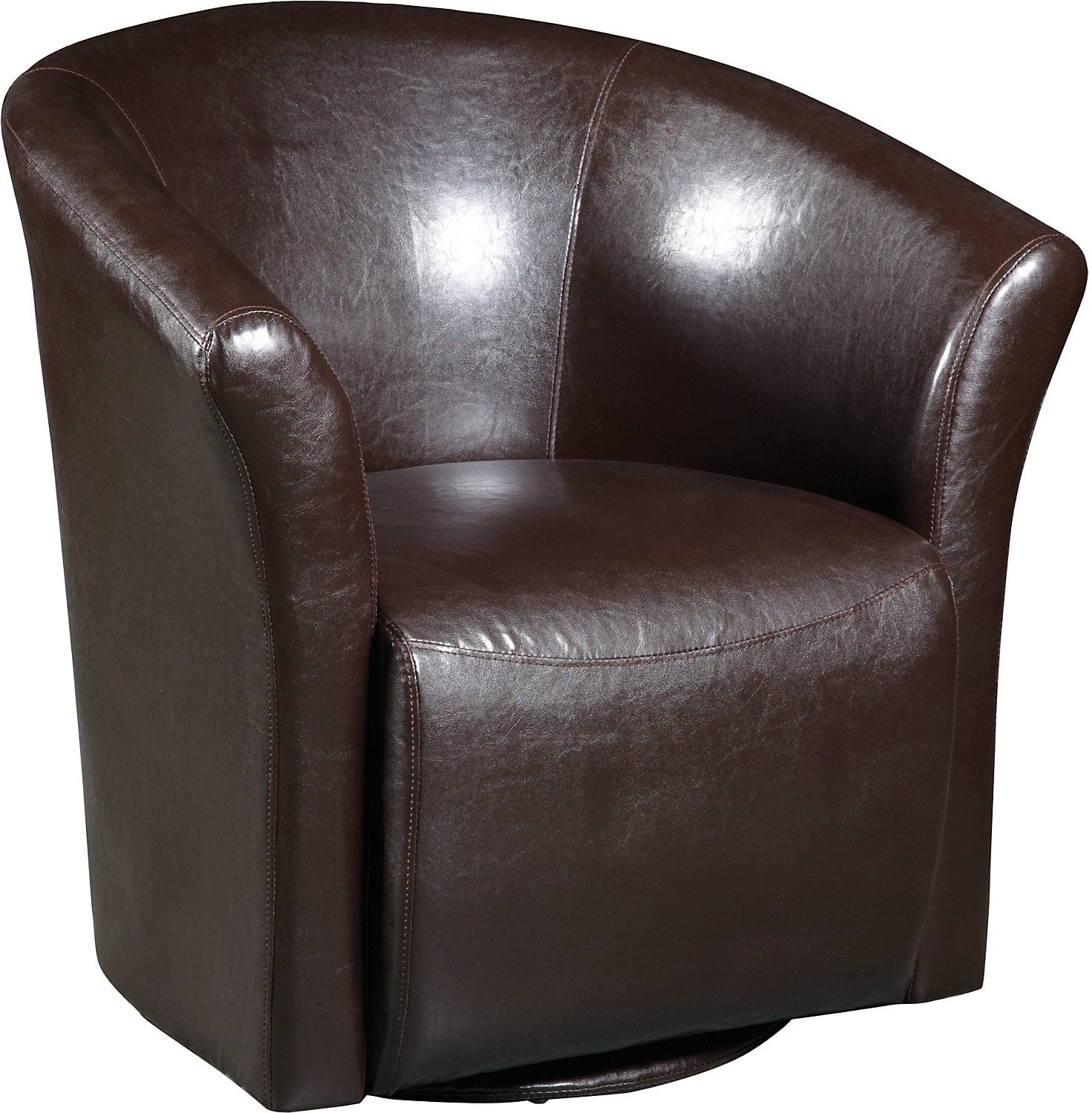 Swivel Accent Chair Brown Swivel Accent Chair The Brick