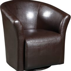 Swivel Accent Chairs Gaming Chair For Xbox One Brown The Brick