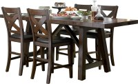Adara 5-Piece Counter-Height Dining Package  Rectangle ...