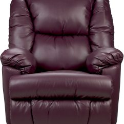 Purple Recliner Chairs Black And Cream Accent Bmaxx Bonded Leather Power Reclining Chair  The