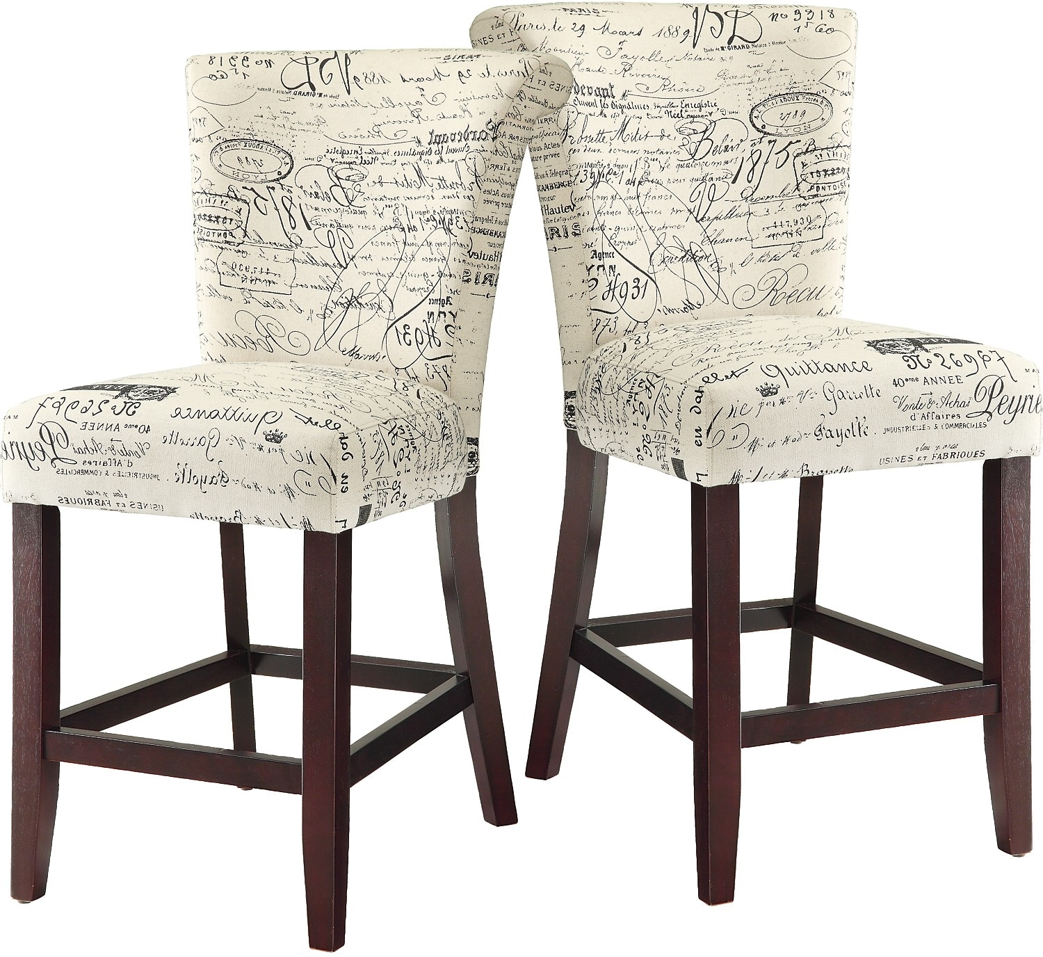 French Script Chair French Script Accent Dining Chair The Brick