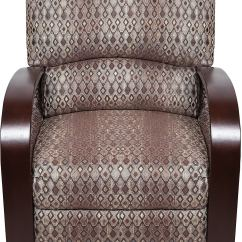Reclining Accent Chair Fritz Folding Chairs Aaron Fabric Copper The Brick