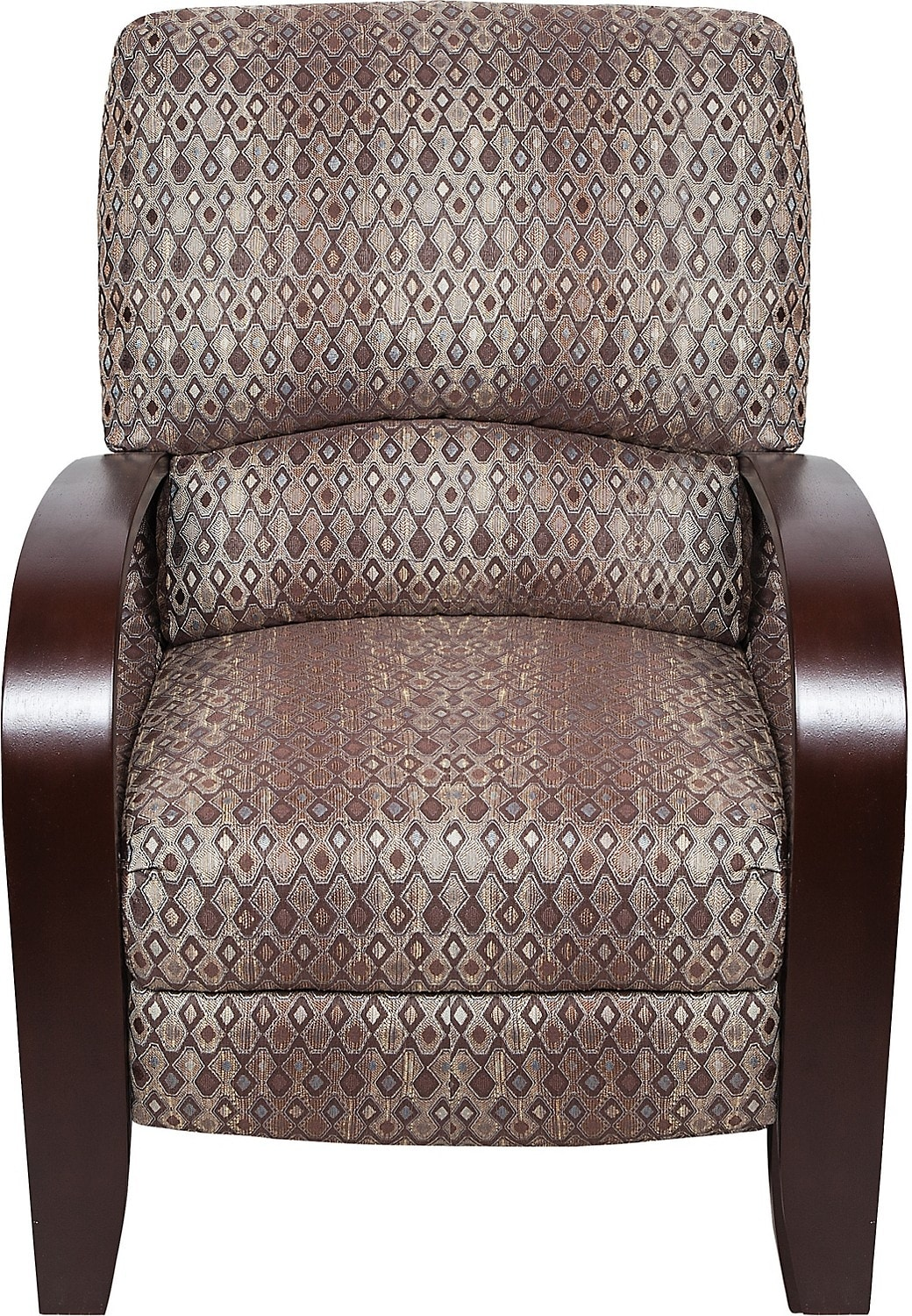 Accent Recliner Chairs Aaron Fabric Accent Reclining Chair The Brick