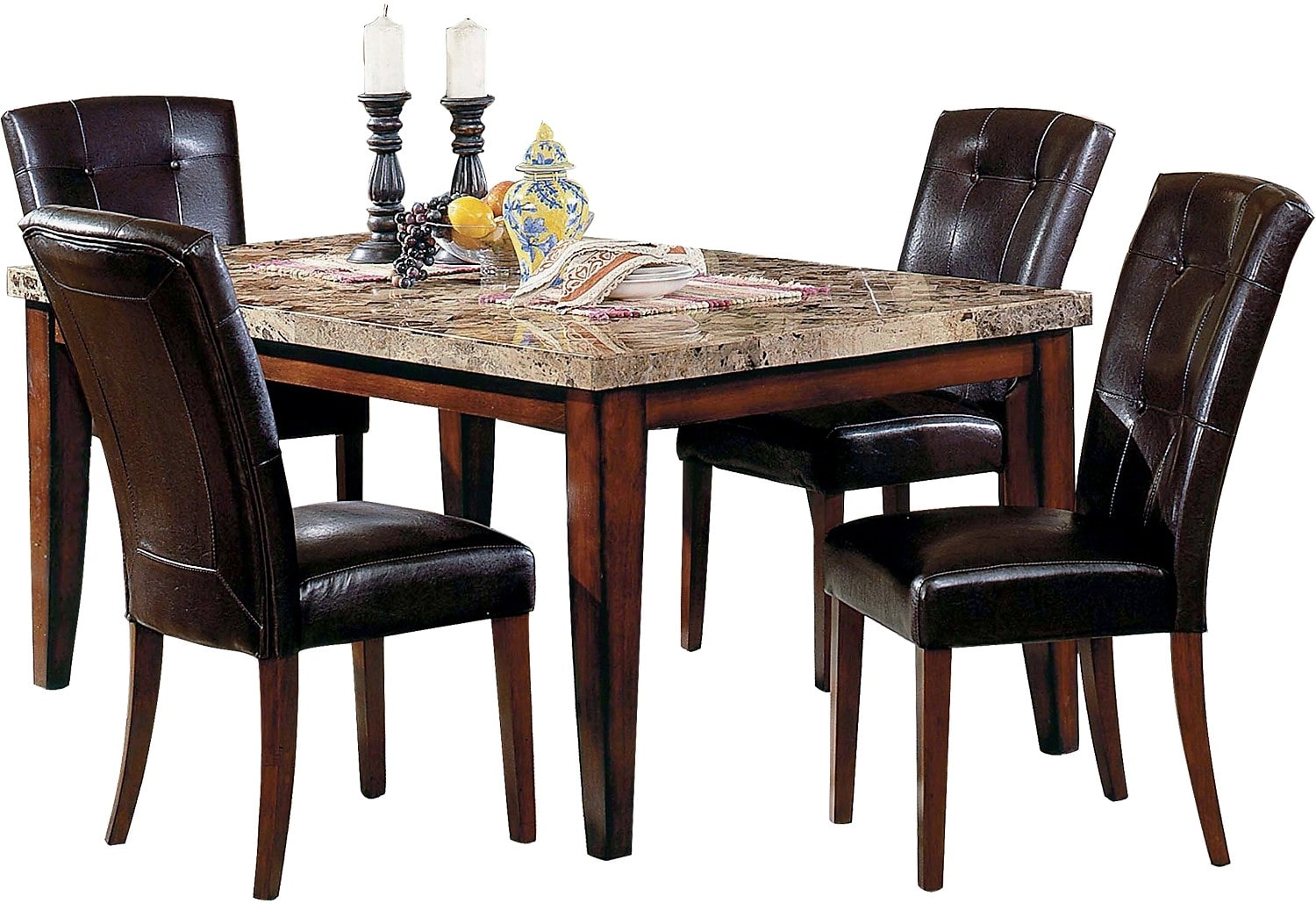 Montibello Formal 5Piece Dining Package  The Brick