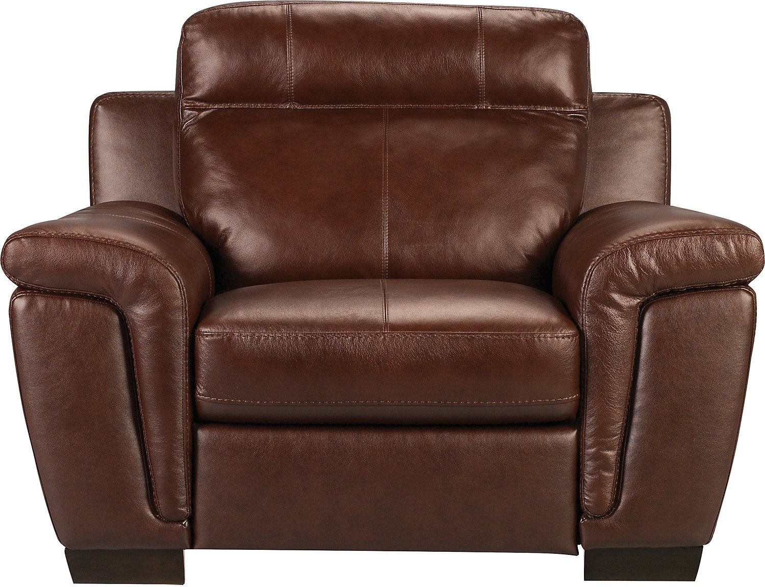Real Leather Recliner Chairs Seth Genuine Leather Power Recliner Mahogany United
