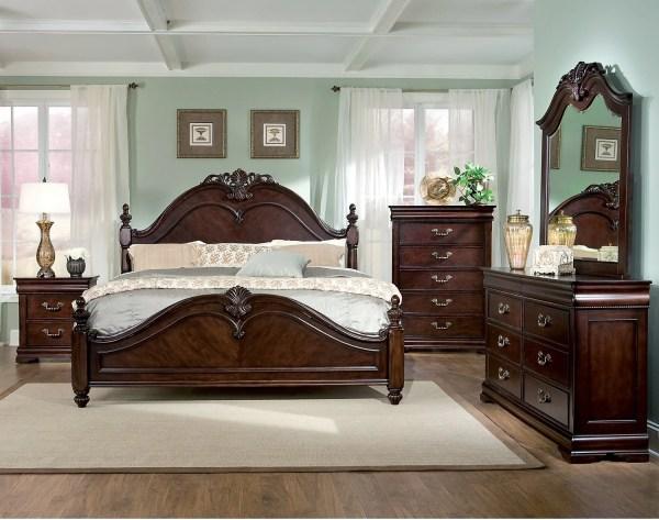 Westchester 5-piece King Bedroom Set Brick
