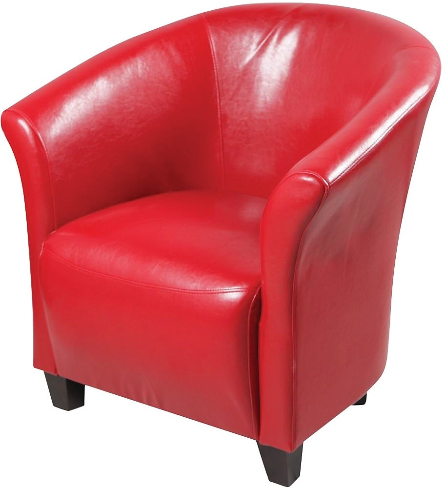 Red Accent Chair  The Brick