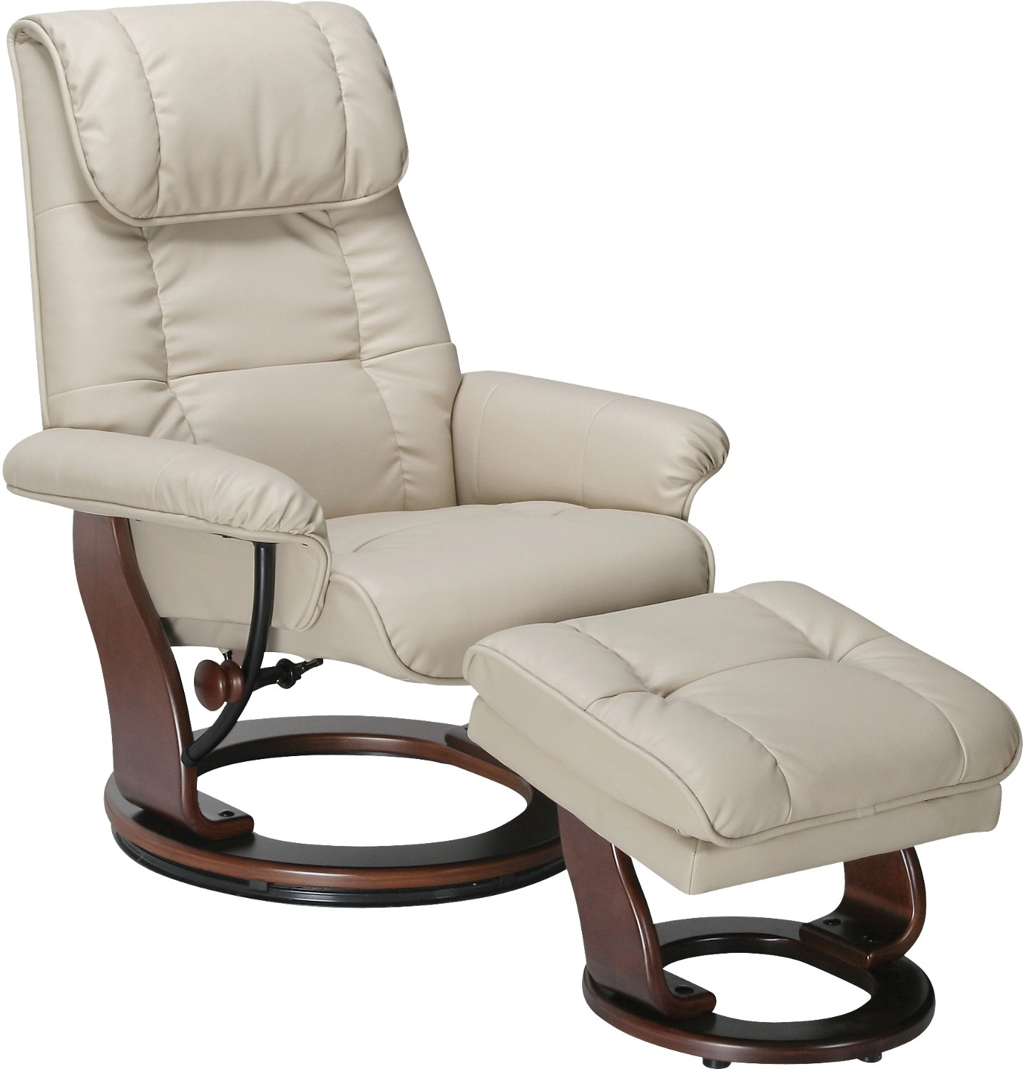Reclining Chair And Ottoman Dixon Taupe Reclining Chair And Ottoman The Brick