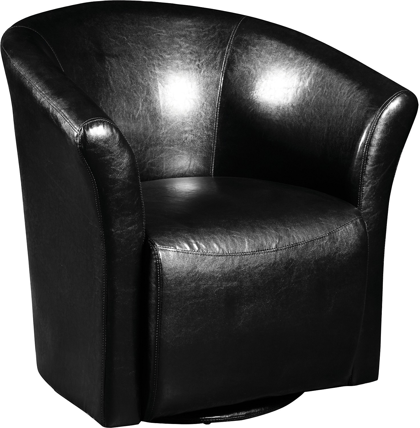 Black Swivel Chair Black Swivel Accent Chair The Brick