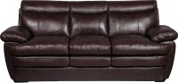 Marty Genuine Leather Sofa - Brown   The Brick