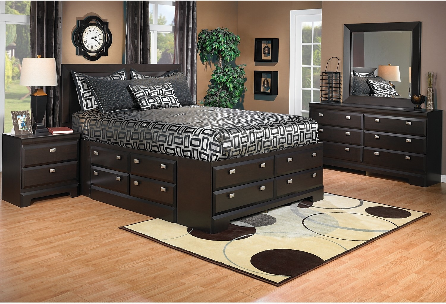 Yorkdale 6Piece Queen Storage Bedroom Package The Brick