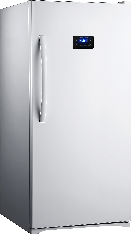 Midea 13.8 Cu. Ft. -frost Upright Freezer White Brick