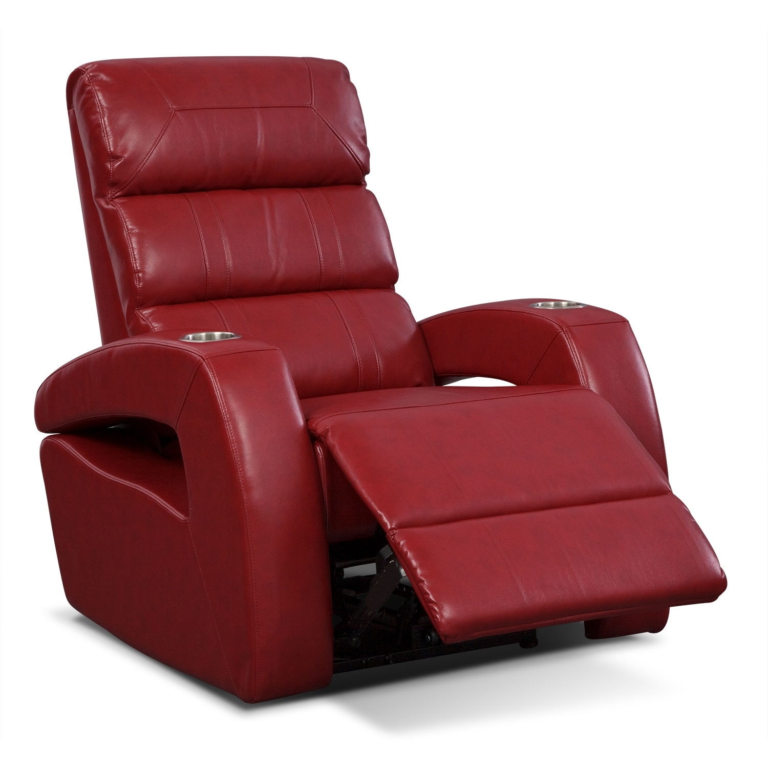 red recliner chairs bedroom sofa chair paramount power furniture