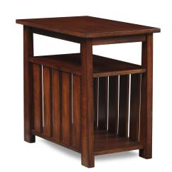 Chair Side Tables With Storage Markwort Stadium Tribute Chairside Table Cherry Value City Furniture