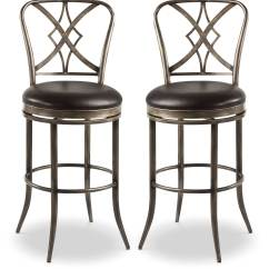 Counter Height Chairs Set Of 2 Chair Design Cad Block Jaqueline Swivel Stool  The Brick