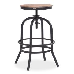 Backless Chair Height Stool Bungee Cord Target Elston Adjustable Counter Antiqued