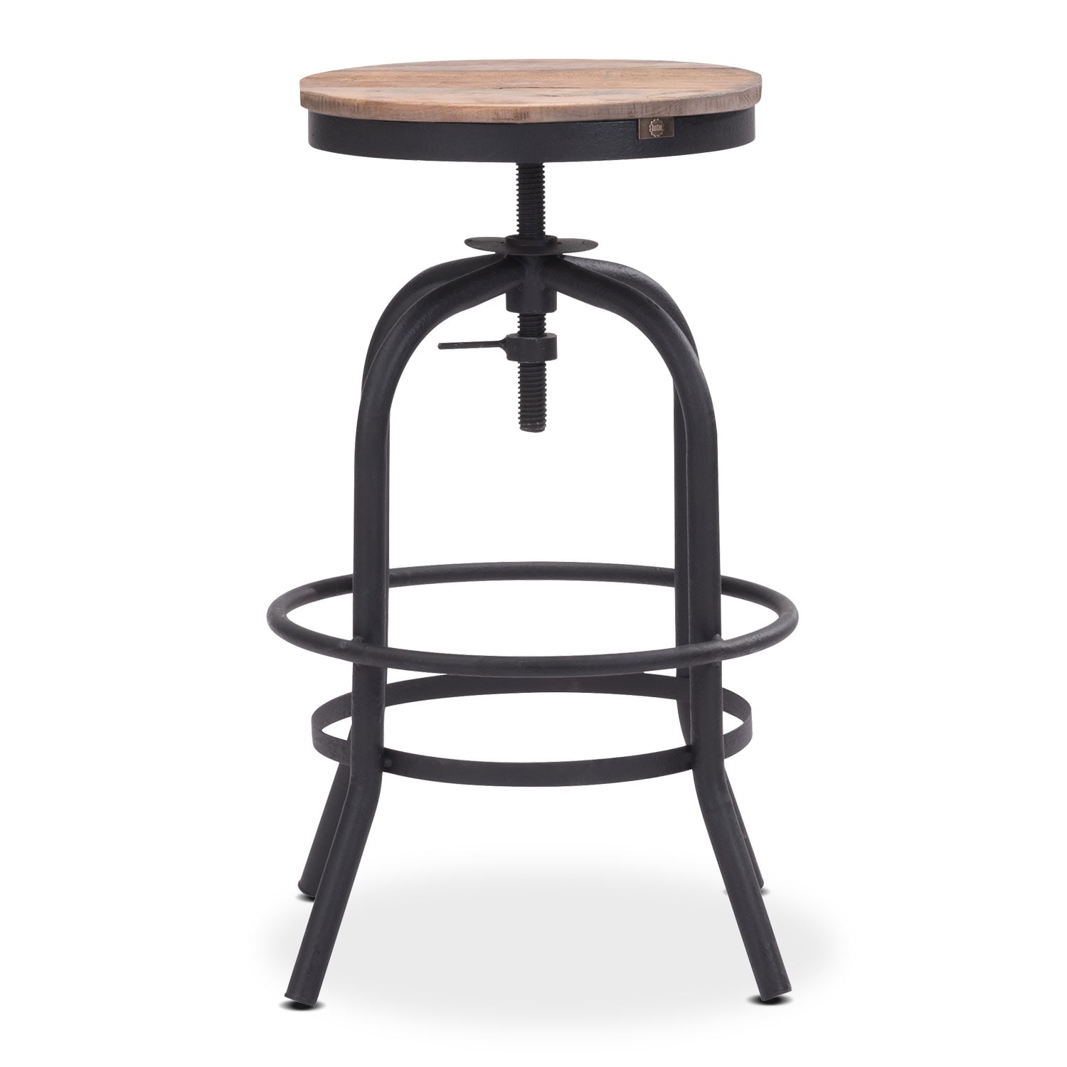 backless chair height stool sears lift chairs elston adjustable counter american