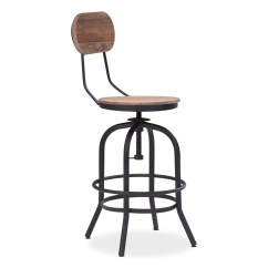 Chair Stool Counter Height Wrought Iron Chaise Lounge Chairs Elston Adjustable Value City Furniture