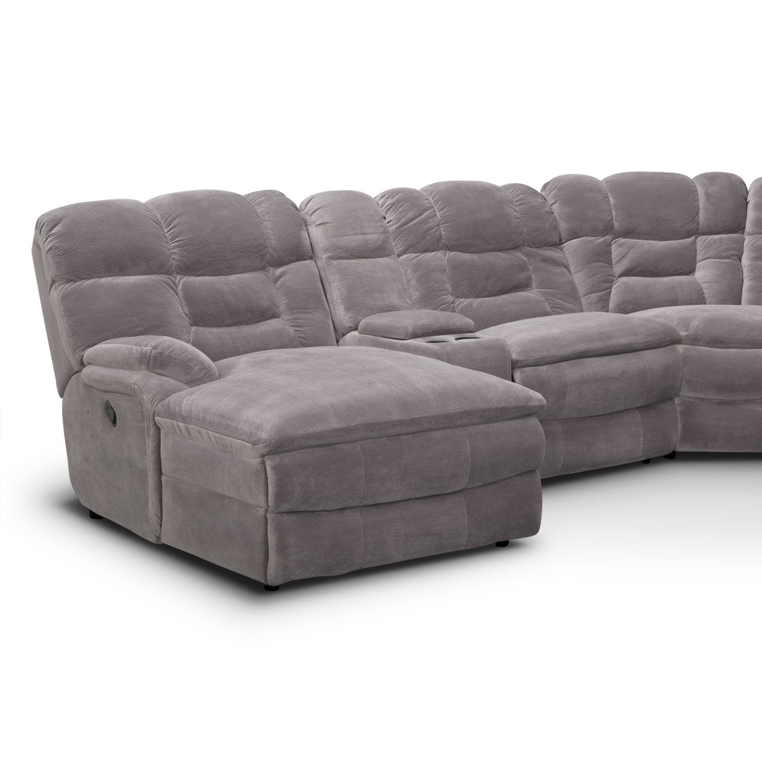corner sofa with recliner and chaise leather sofas under 2000 big softie ii 6 pc. power reclining sectional (reverse ...