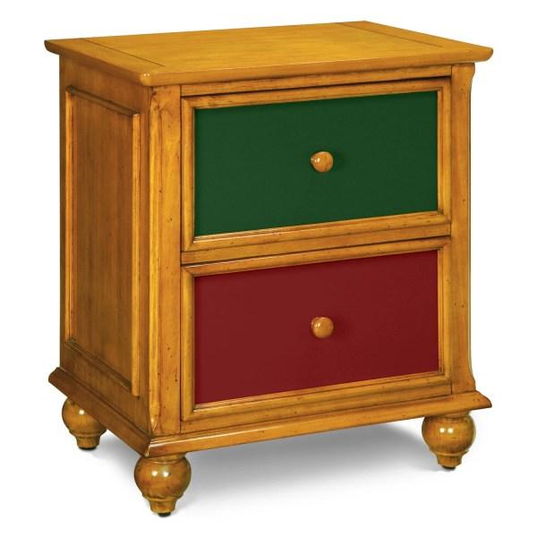Colorworks Nightstand - Honey Pine American Signature