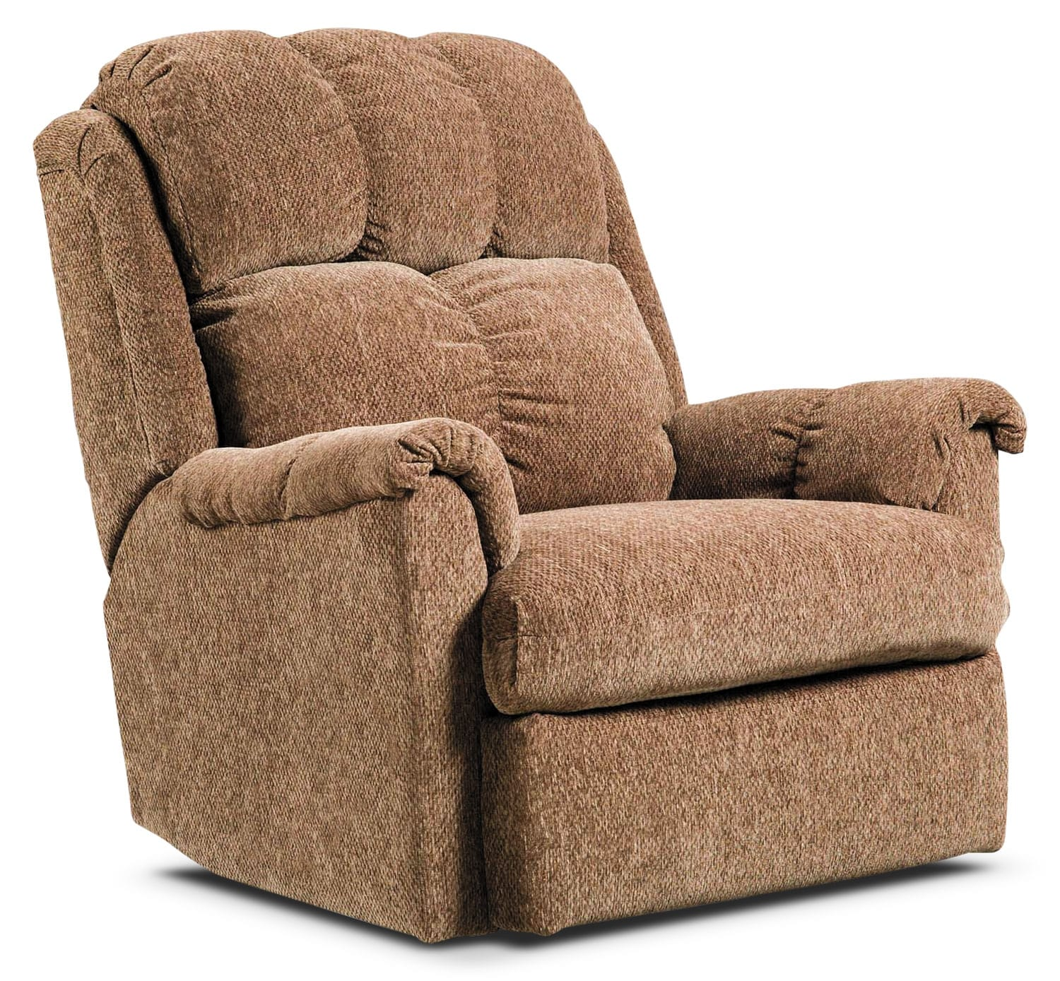 Power Reclining Chairs Brown Chenille Power Reclining Chair The Brick