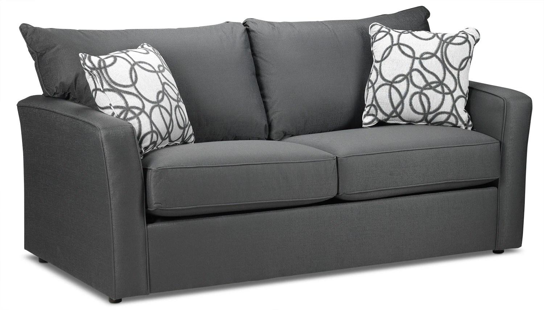 solsta sofa bed ransta dark gray 149 00 chandler power reclining loveseat review buy online furniture in canada leon 39s