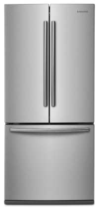 "Samsung 22 Cu. Ft. 30"" Wide French-Door Refrigerator ..."