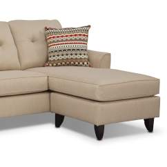 Marco Cream Chaise Sofa By Factory Outlet 7 Legs Value City Furniture