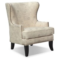 Marseille Accent Chair - Cream and Black | American ...