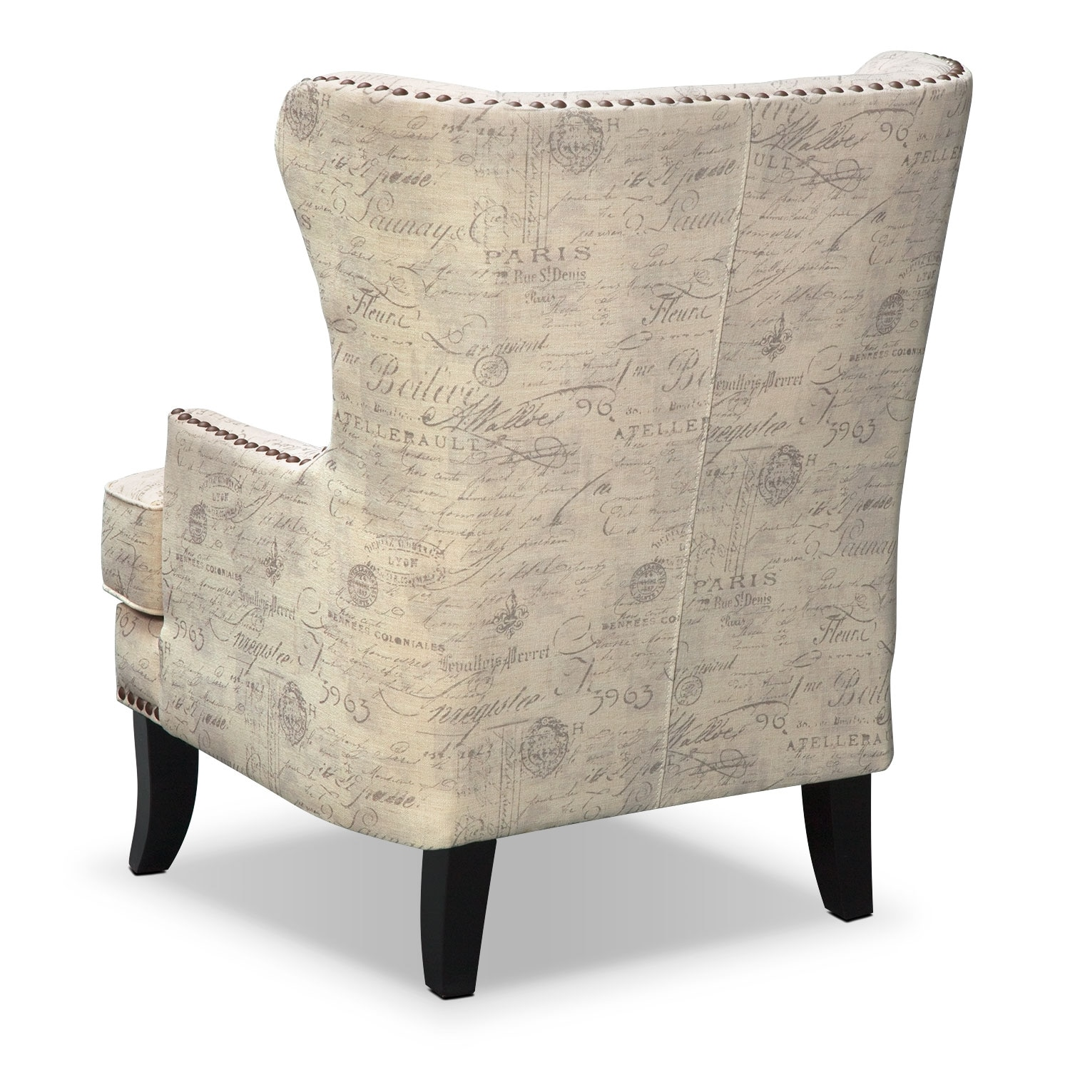 Cream Accent Chair Marseille Accent Chair Cream And Black Value City