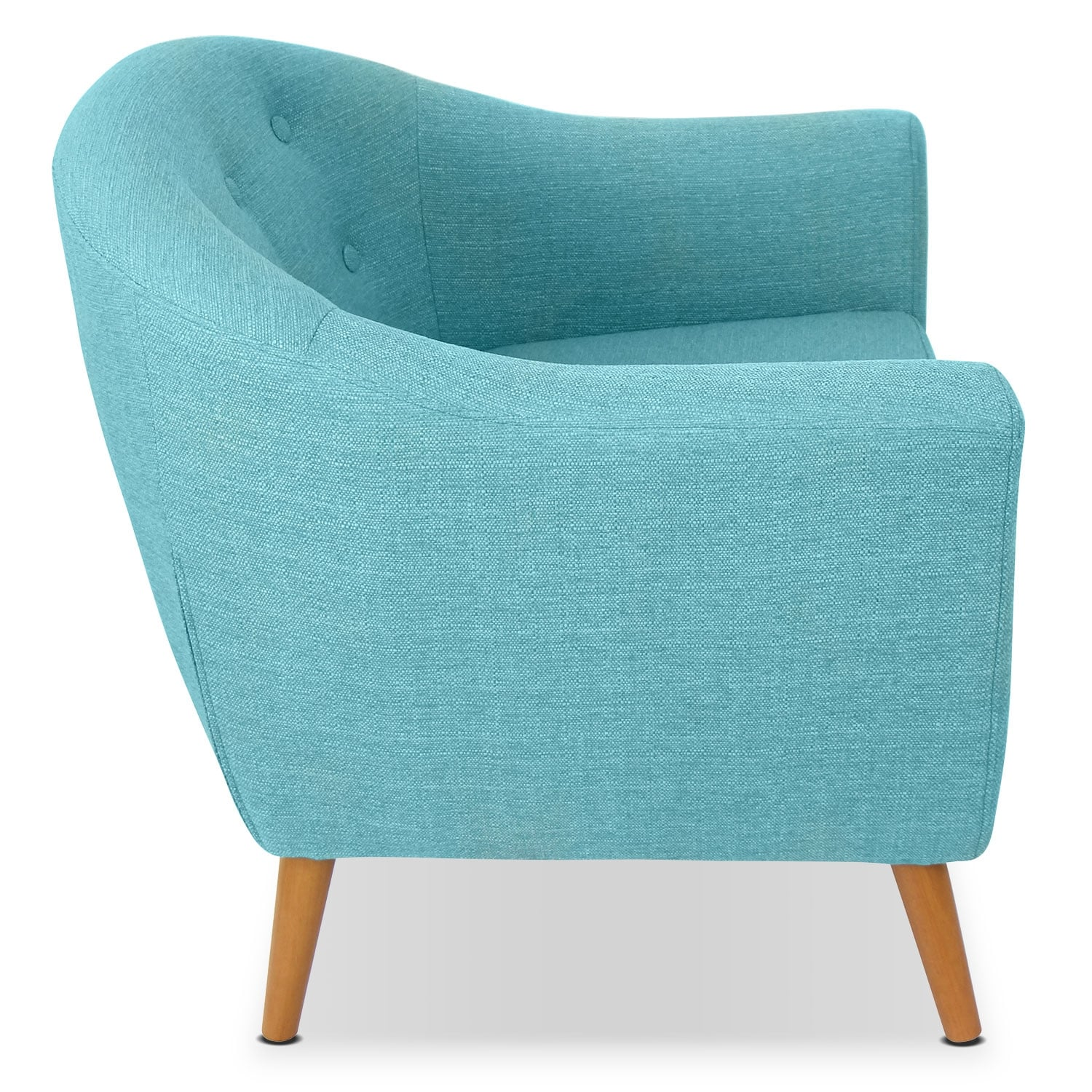 accent chair teal best desk chairs for sciatica norman value city furniture