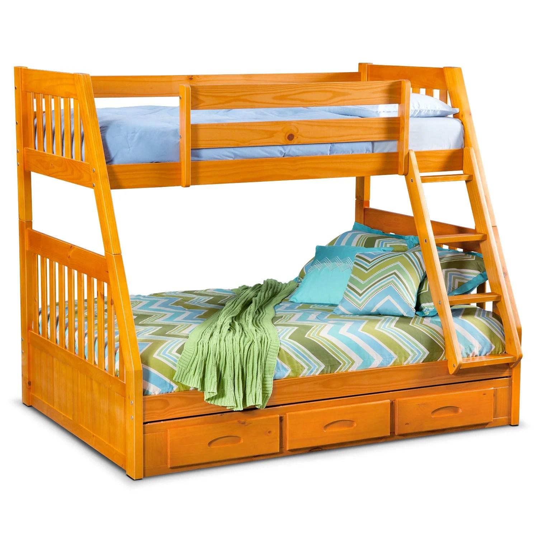 Twin Over Full Bunk Bed Value City Novocom Top