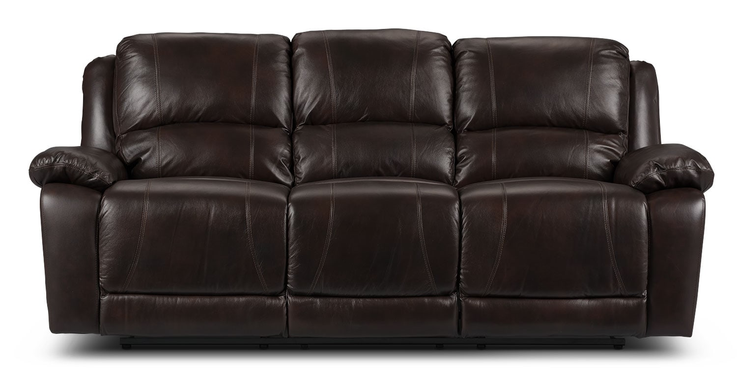 power recliner sofa canada small one person marco genuine leather reclining loveseat chocolate