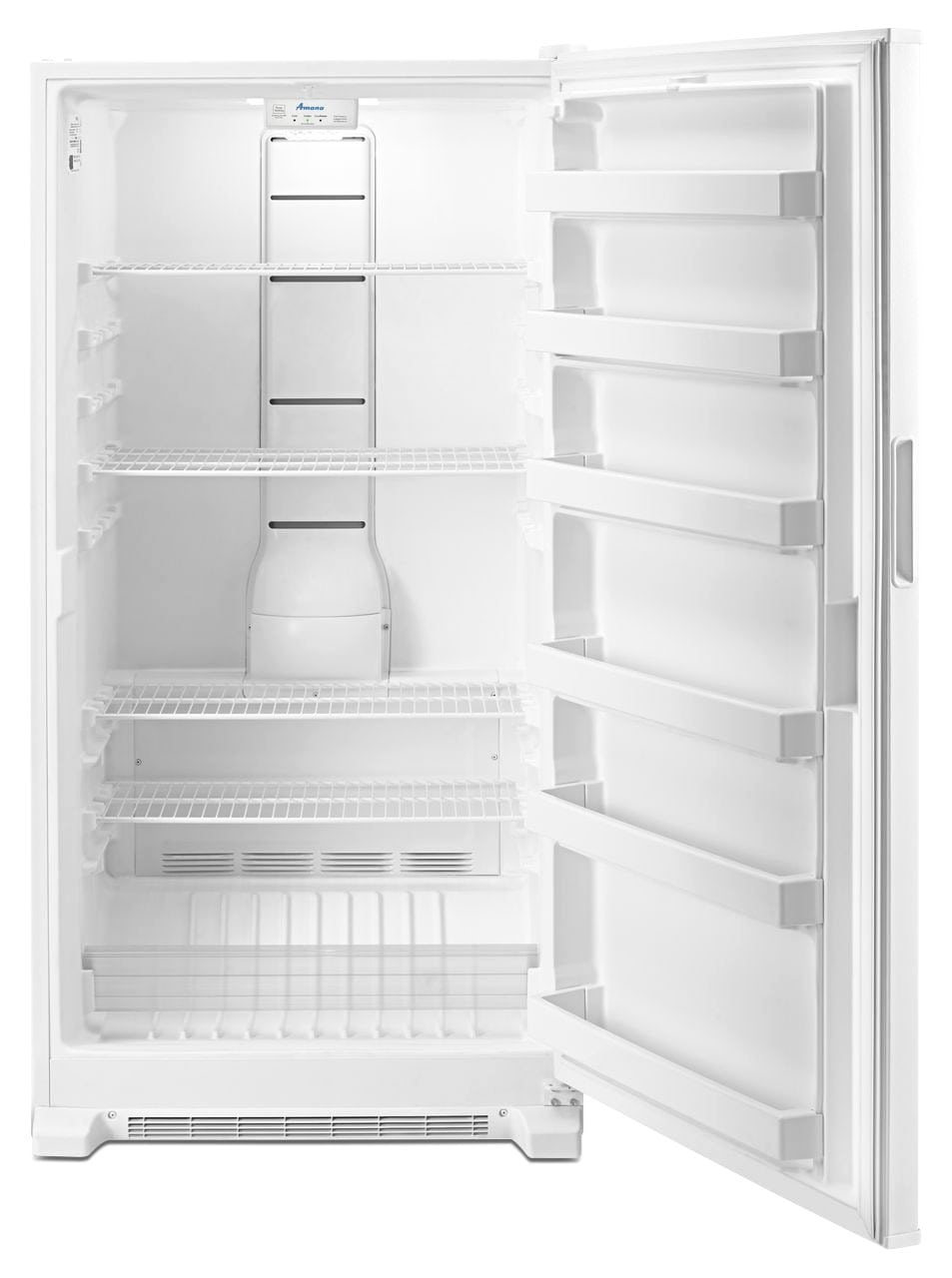 kitchen aid tv offer stainless steel counter amana white upright freezer (18.0 cu. ft.) - azf33x18dw ...