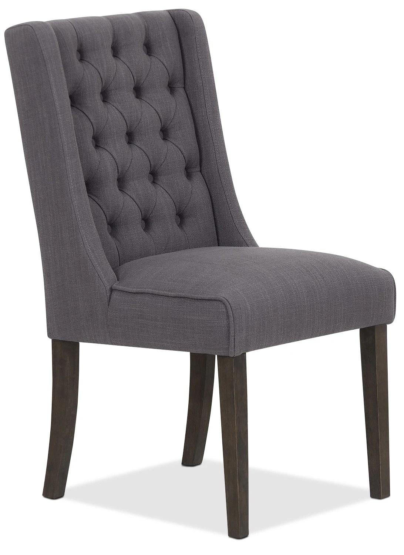 grey wing chair magic hat single caroline  united furniture warehouse
